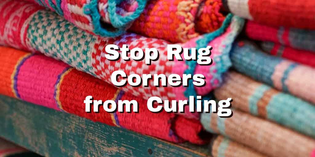 rugs on a shelf