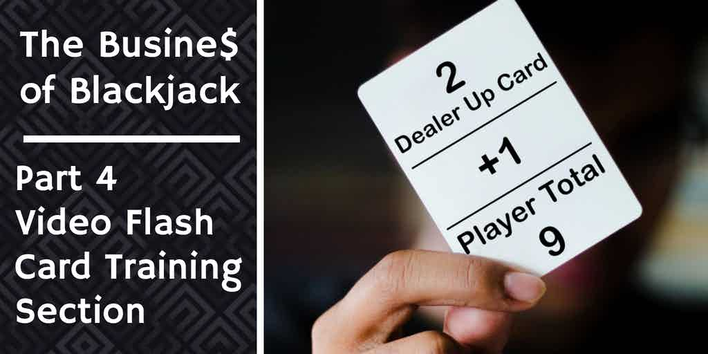 blackjack stragety flash card