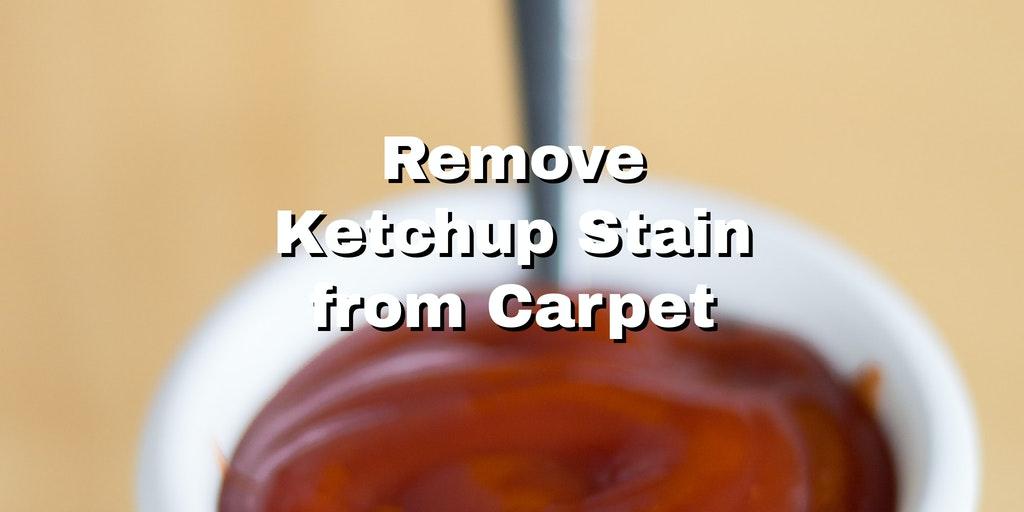 ketchup in a small bowl