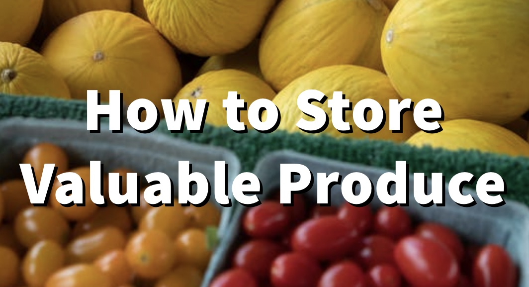 How to Store Garden Produce 4
