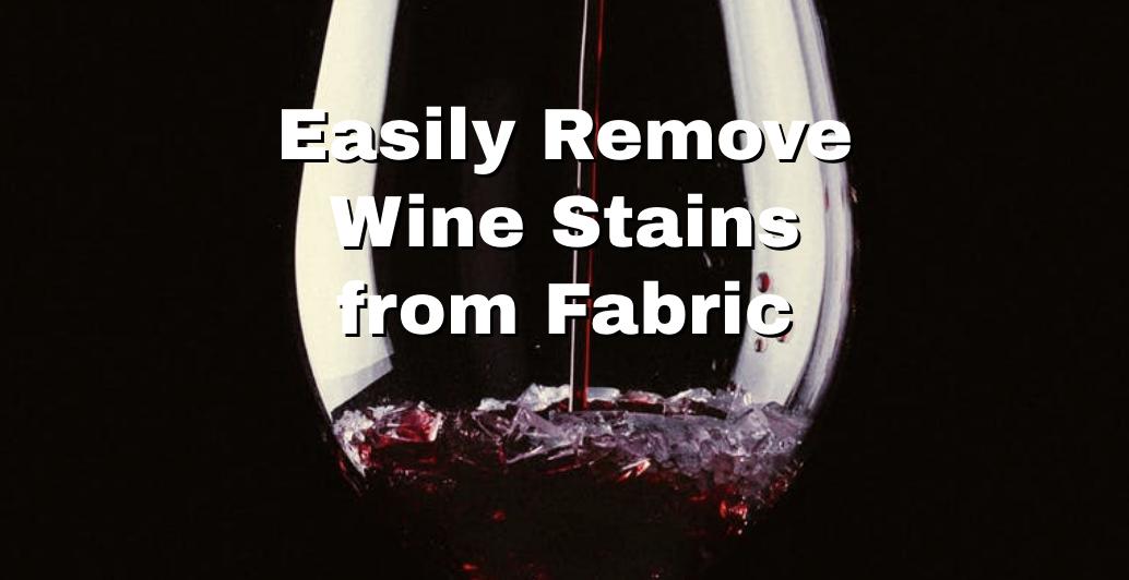 wine stain splash