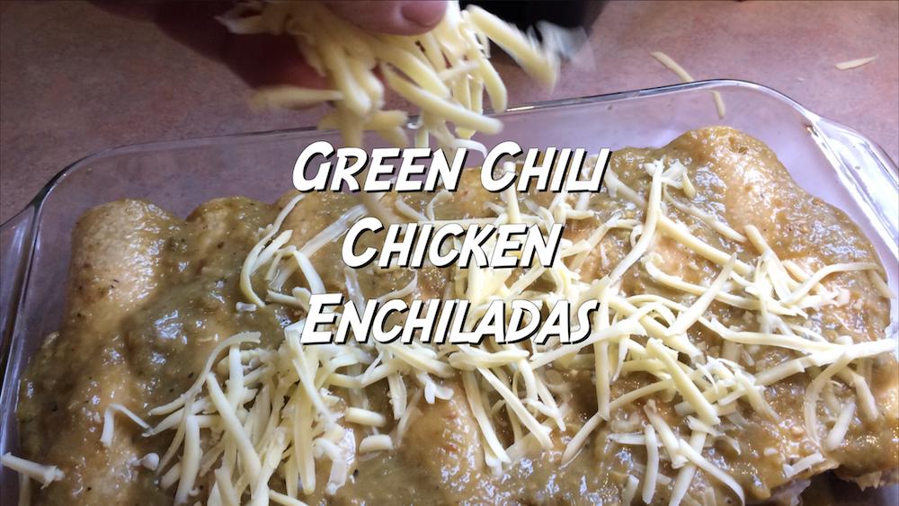 Green Chili Chicken Enchiladas 4