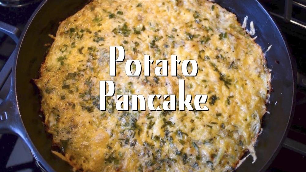 Cast Iron Potato Pancakes 1