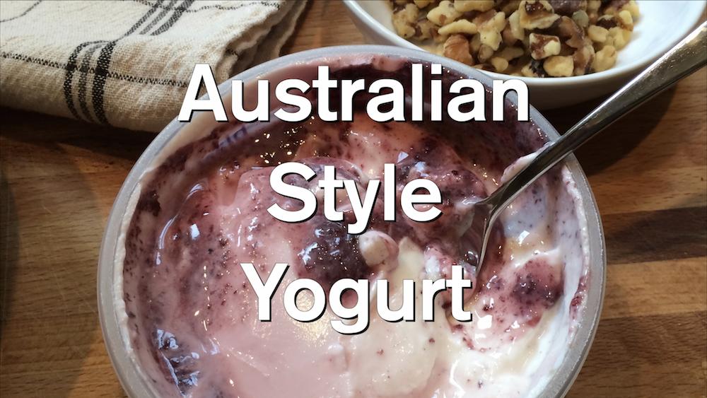 Australian Style Yogurt 2