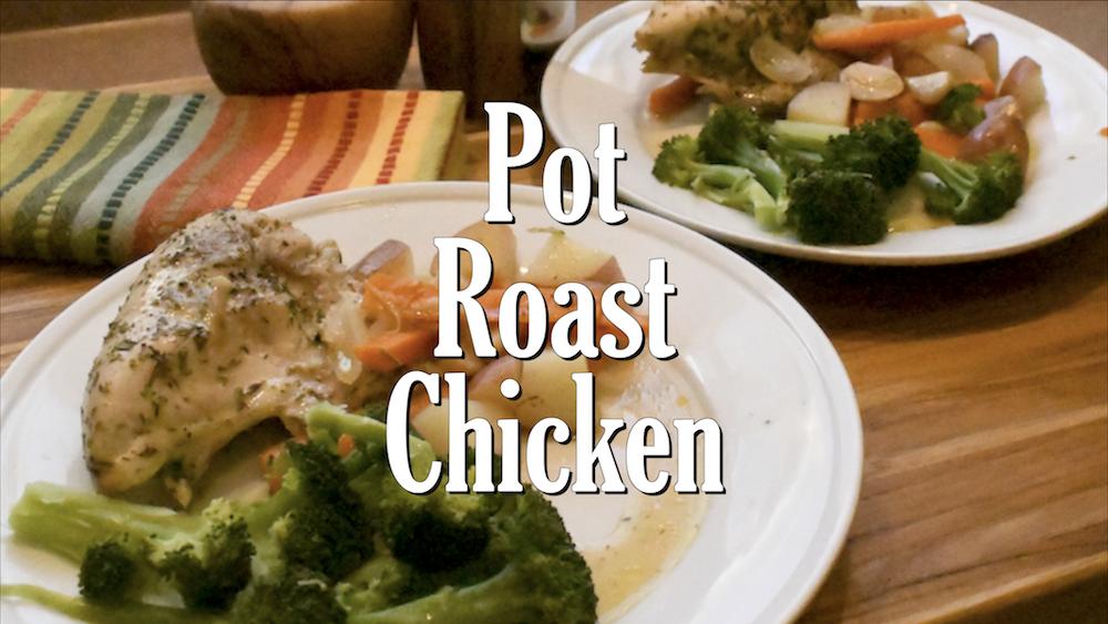 Pot Roast Chicken 4